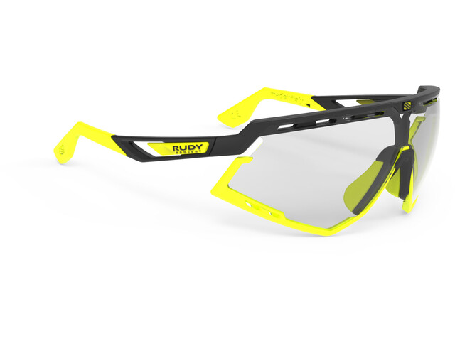 Rudy Project Defender Glasses Black Matte/Yellow Fluo - ImpactX Photochromic 2 Laser Black
